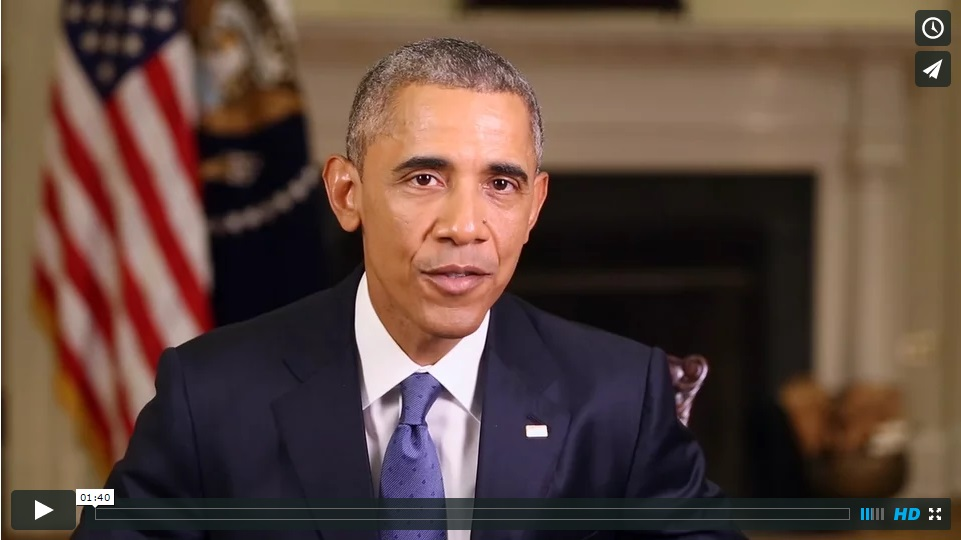 President Obama wishes ESA a happy 100th birthday
