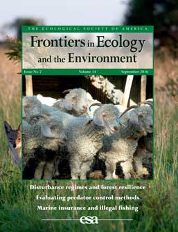 The cover for Frontiers Magazine Volume 14 Issue 7