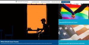 Screenshot of www.tolerance.org