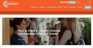 Screenshot from climateoutreach.org.