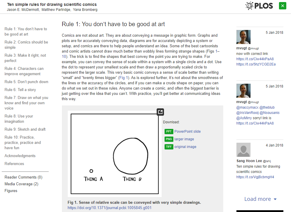 """Screenshot of paper, highlighting rule number one, which is """"You don't have to be good at art."""""""