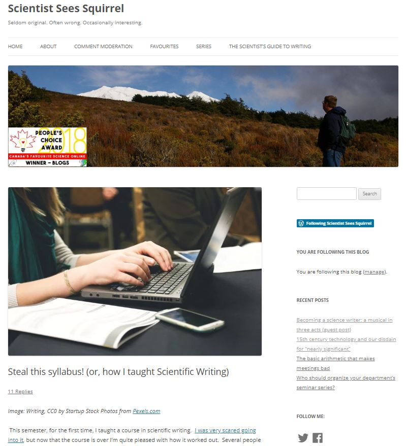 Screenshot - follow links in blog post to access full text and images on the original website