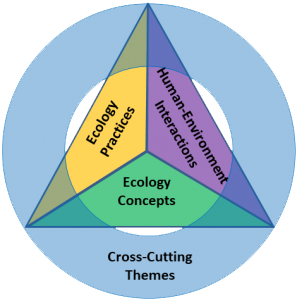 Official graphic from four dimensional ecology education.