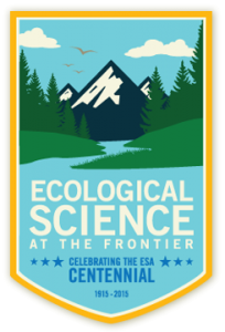 Ecological science at the frontier: Centennial logo