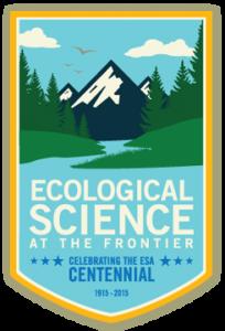Ecological science at the frontier: Centennial logo
