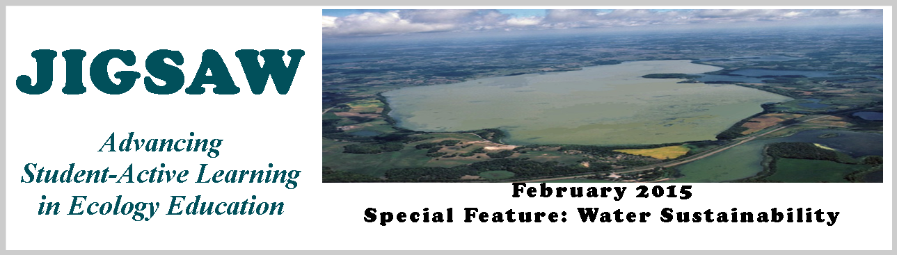February 2015 Jigsaw Special Features: Water Sustainability