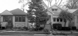 Examples of front yards in Belaire and colleagues' study area in the greater Chicago region. Credit: E. Minor.