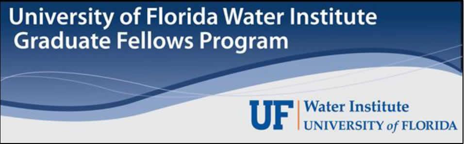 Ph.D. Fellowship at University of Florida Water Institiute ...
