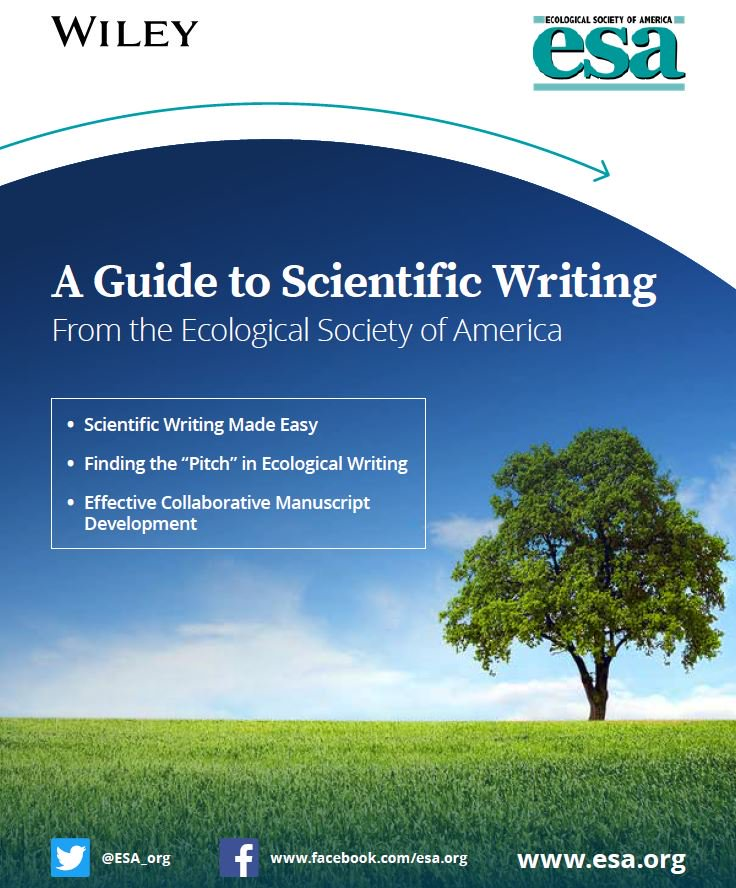 guide to scientific writing - Get Involved with ESA