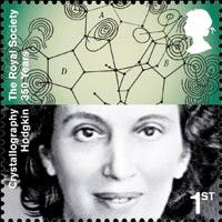 Dorothy Hodgkin royal mail stamp