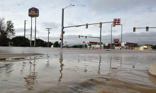 South Platte River flooding