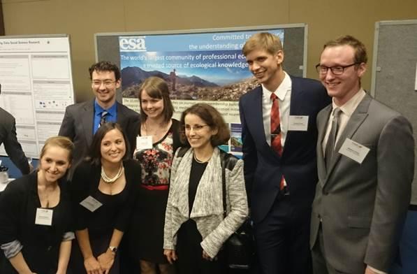 GSPA winners with NSF Director