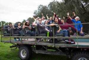 Picture of SEEDs students on a field trip.
