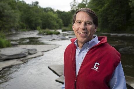David Lodge, 2016-17 President of the Ecological Society of America. Credit Robert Barker/ Cornell University.