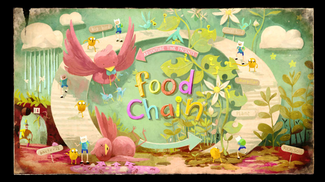 "Masaaki Yuasa, ""Food Chain."" Adventure Time season 6 episode 7"