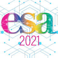 Offical logo of ESA 2021