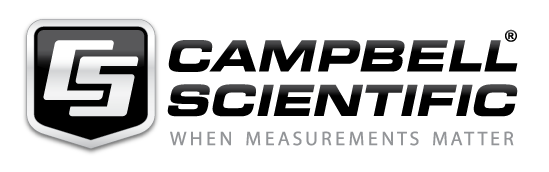 Official shield logo for Campbell Scientific and the slogan When Measurements Matter.