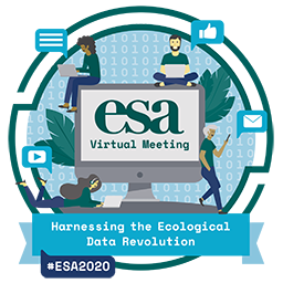 Official logo for the ESA 2020 virtual Annual Meeting.