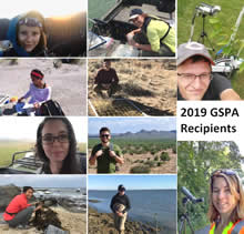 2019 GSPA Recipients