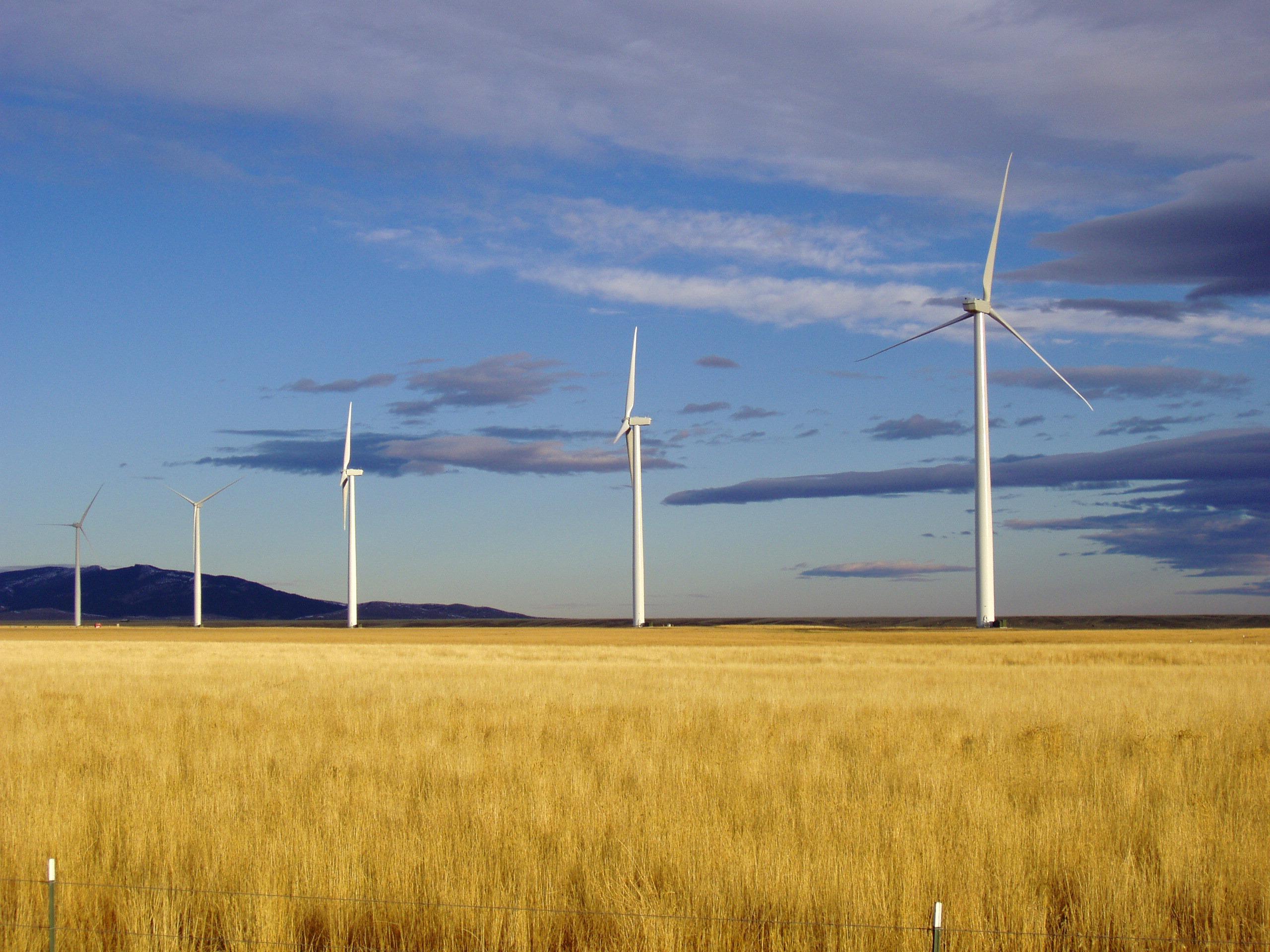 Figure 3a Judith Gap Wind Energy Center in Montana Credit Invenergy LLC NREL 14369 - New Report Deepens Understanding of Wind-Wildlife Interactions