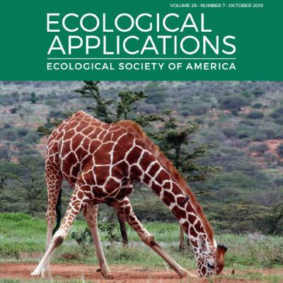 Ecological Applications Seeks New Editor-in-Chief
