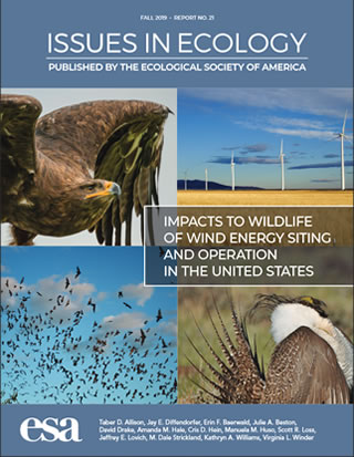 Cover image for the publication, Issues in Ecology.
