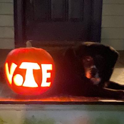 Happy Halloween! Remember to Vote
